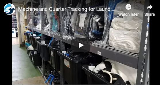 New Laundromat POS Feature:  Quarter and Machine Tracking